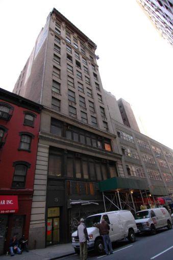 13-15 West 27th Street.