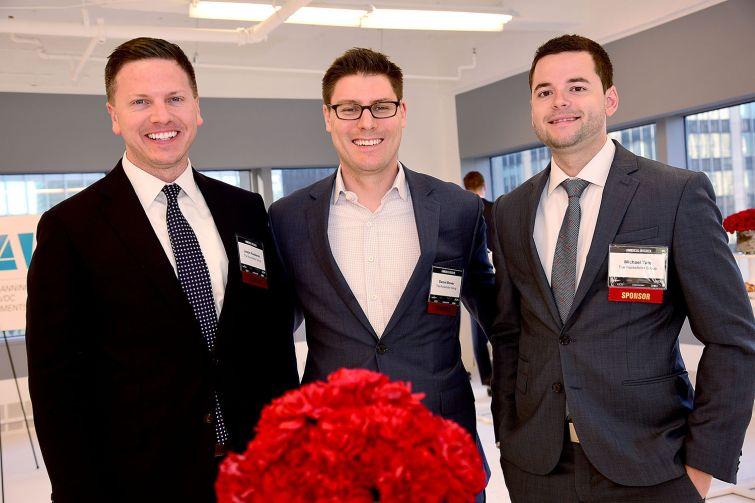 Justin Huebener, Daniel Bower and Michael Tate (Photo: Aurora Rose/ PMC).