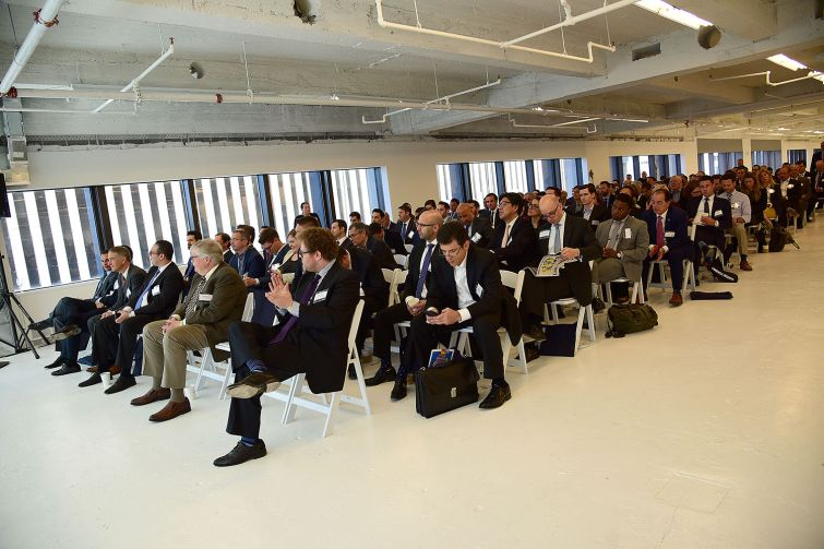 There was a packed house at 1271 Avenue of the Americas for the event (Photo: Aurora Rose/ PMC).