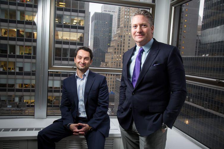Matthew Baron and Jonathan Simon (Photo: Michael Nagle).