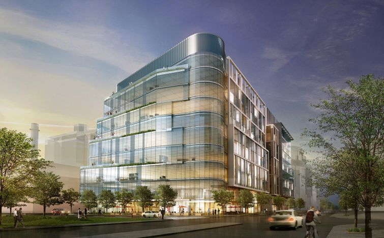 50- 60 Binney Street (Rendering: SGA Architecture).