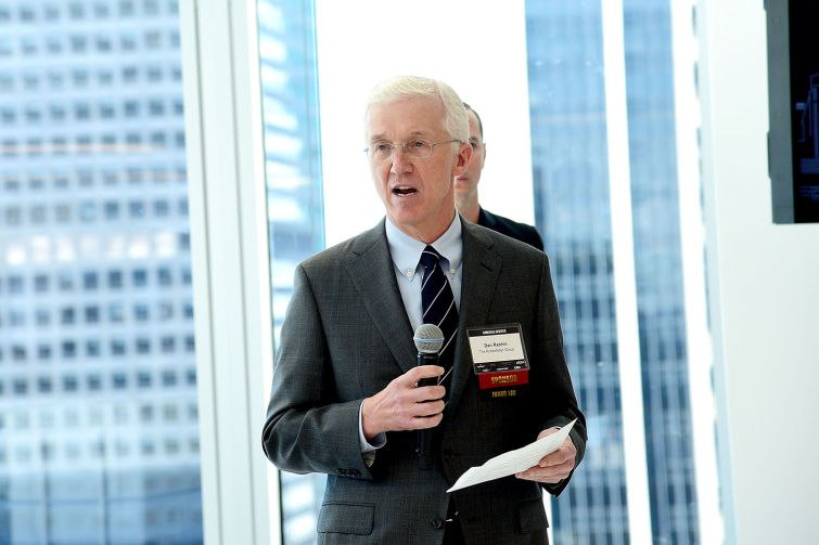 Dan Rashin of the Rockefeller Group, which hosted the event in its 1271 Avenue of the Americas building (Photo: Aurora Rose/ PMC).