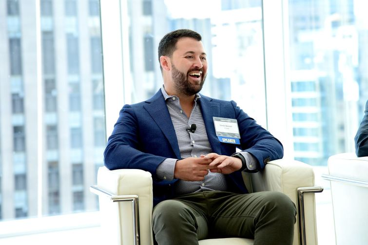 Derek Stewart of Indeed said that TAMI tenants need more flexible leasing options and a community experience outside of buildings to be attracted to Midtown (Photo: Aurora Rose/ PMC).
