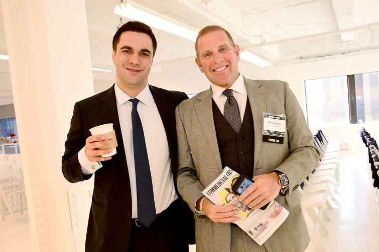 Edward Riguardi and A. Mitti Liebersohn at the Midtown event (Photo: Aurora Rose/ PMC).