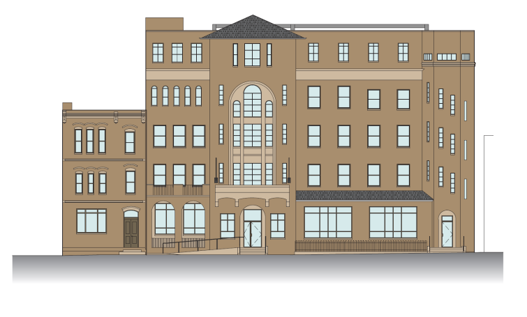 A rendering of 810 5th Street NW.