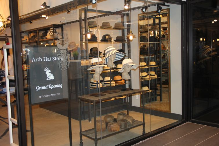 Arth Hat Store opened at TurnStyle (Photo: Lauren Elkies Schram/ for Commercial Observer).