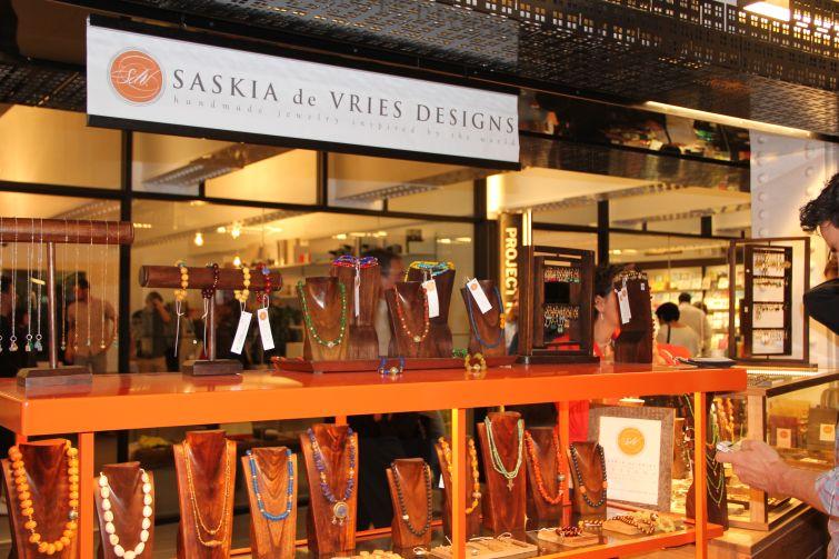 Saskia de Vries Designs at TurnStyle (Photo: Lauren Elkies Schram/ for Commercial Observer).