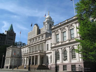 New York City Hall.