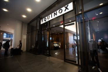 The retail portion of Equinox at Brookfield Place.