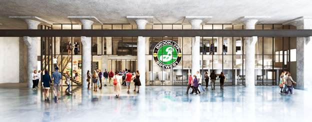 A rendering of Building 77.