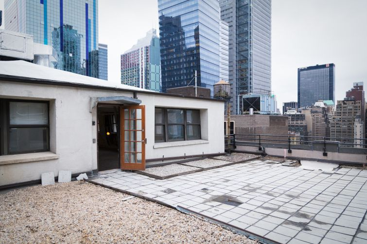 The roof will be transformed into an outdoor deck for tenants (Photo: Kaitlyn Flannagan/ For Commercial Observer).
