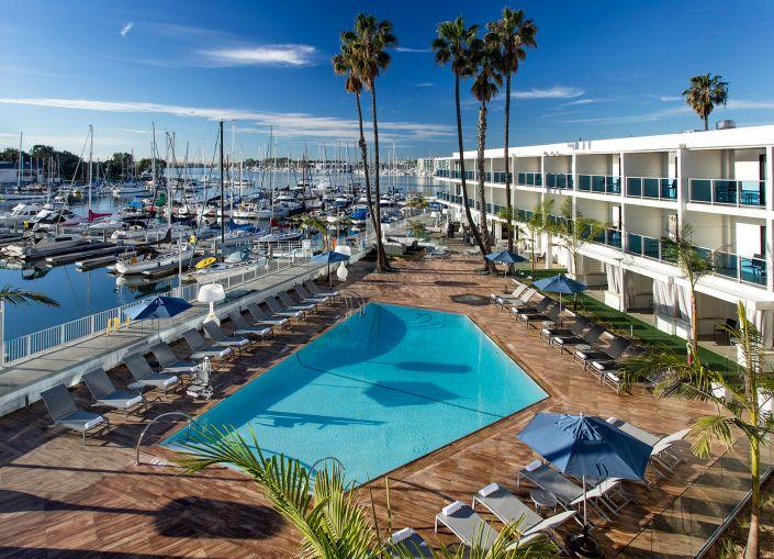 Marina del Rey Hotel.