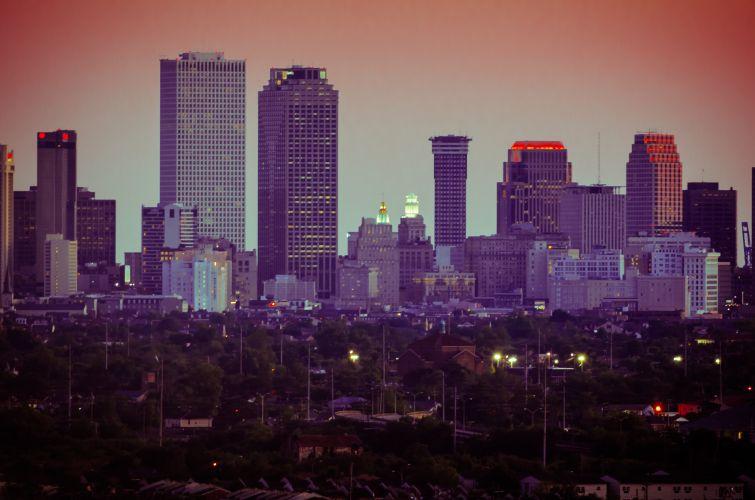 New Orleans Skyline (Courtesy: Wikipedia).