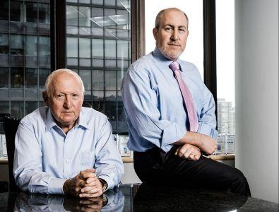 Scott and Andy Singer (Photo: Chris Sorensen/For Commercial Observer).