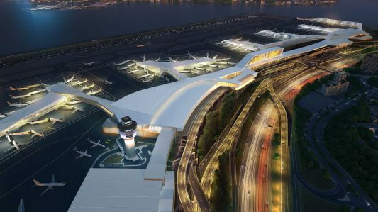 A rendering of the new LaGuardia Airport (Photo: governorandrewcuomo/flickr.com).