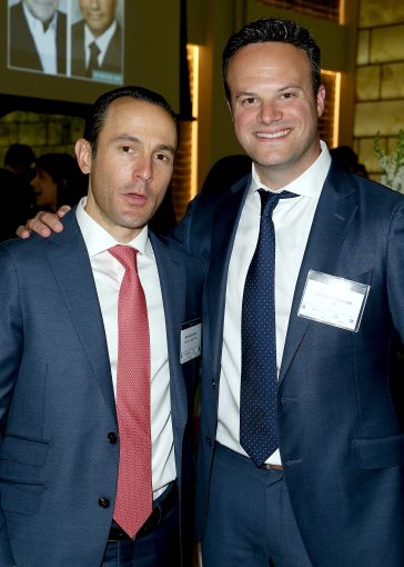 Ronnie Levine of Meridian Capital Group, left, and  Joseph Dyckman of Citigroup (Photo: Jimi Celeste/PMC).