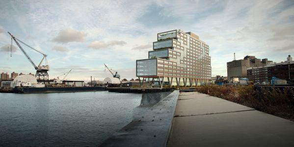 Dock 72 at the Brooklyn Navy Yard.