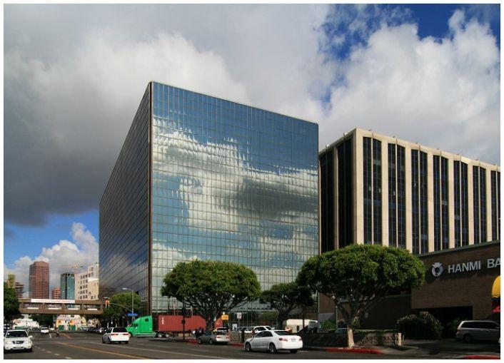 California Market Center in Los Angeles.