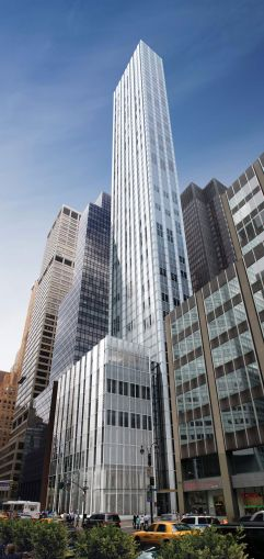 While Pavarini McGovern has done relatively small projects, it's constructing the 63-story condo tower at 100 East 53rd Street (Photo: CoStar Group)