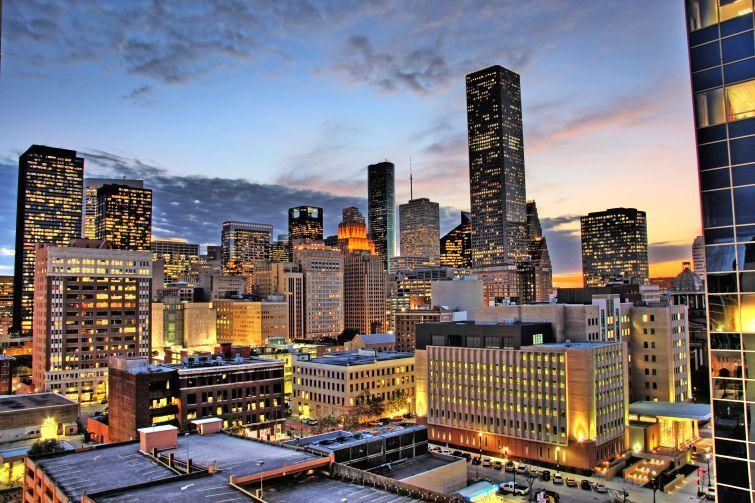 Downtown Houston (Courtesy: Wikipedia).