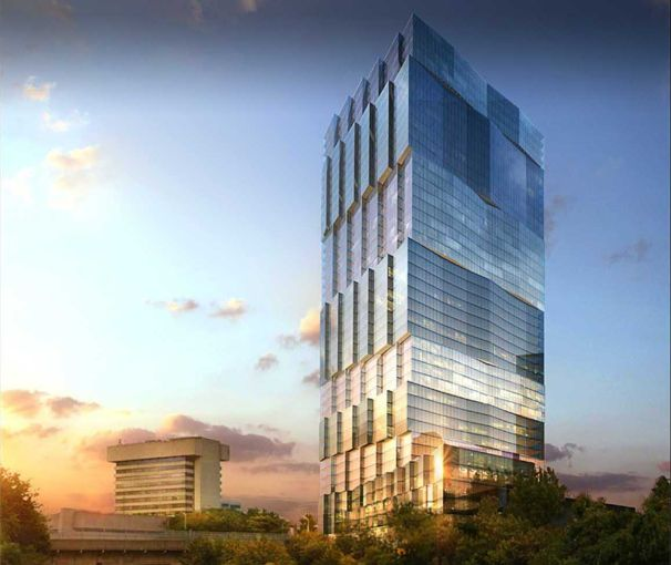 Rendering of 500 Summit Avenue in Jersey City, N.J. (Image: Courtesy of HAP Investments).