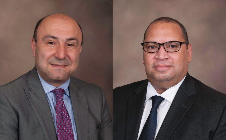 Kenneth Ceonzo and Carlos Sanchez.