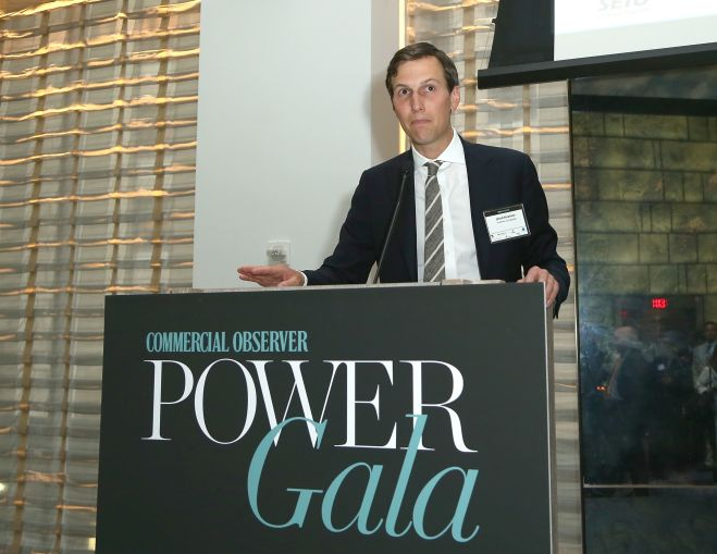 Jared Kushner, the publisher of Commercial Observer, addresses the room (Photo: Jimi Celeste/PMC).