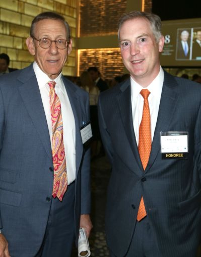 Stephen Ross of Related Companies, left, and Peter D'arcy of M&T Bank (Photo: Jimi Celeste/PMC).