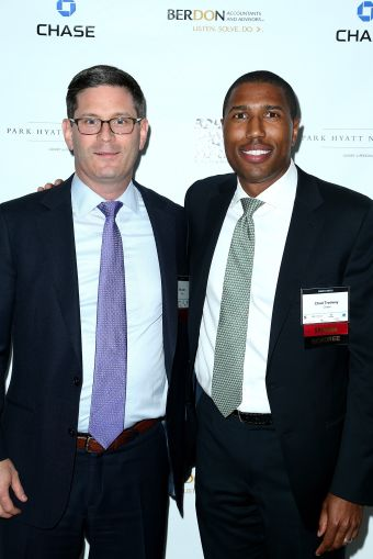 Will Oehler, left, and Chad Tredway of J.P. Morgan Chase (Photo: Jimi Celeste/PMC).