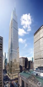 A rendering of One Vanderbilt (Courtesy: CoStar Group).