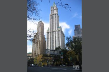 WOOLWORTH BUILDING, 233 BROADWAY (IMAGE: 42FLOORS)
