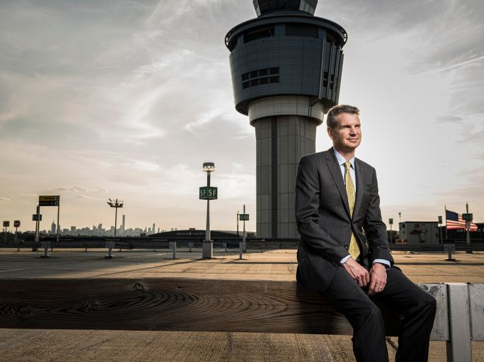 Stewart Steeves is heading LaGuardia Gateway Partners, which is building a new Terminal B at the airport (Photo: Sasha Maslov/for Commercial Observer).