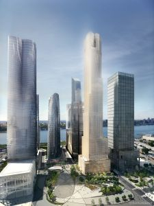 35 Hudson Yards (Rendering courtesy of: Related Companies and Oxford Properties Group).