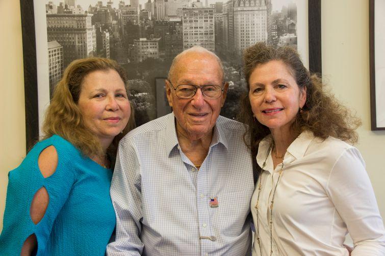 Susan Buchbinder, Eugene Warren and Lori Buchbinder (Photo: David Khorassani/for Commercial Observer).