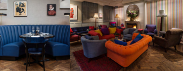 Inside The Groucho Club in London (Image: club requirement details).