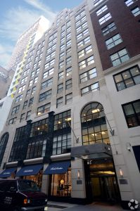 11 East 44th Street (Photo Courtesy: CoStar Group).