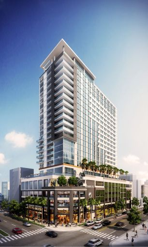 A rendering of 299 North Federal Highway (Courtesy: Meridian Capital Group).