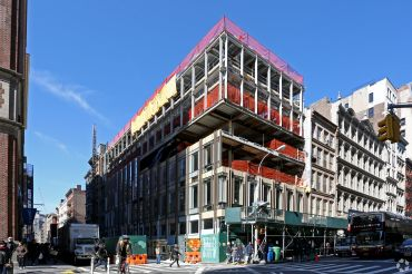 529 Broadway, under construction (Photo: CoStar Group).