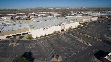 Dillard's department store at Newgate Mall in Utah.
