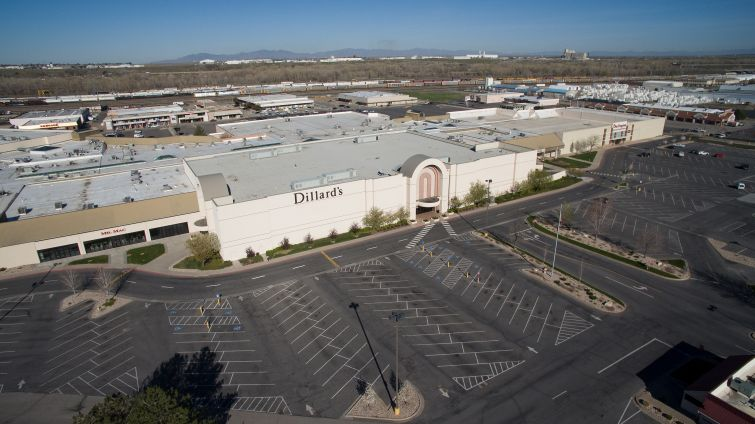 Dillard's department store at Newgate Mall in Utah.