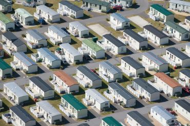 A typical manufactured housing community (Photo: Getty Images).