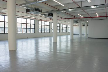 IAC is opening a new office in this third floor space at 47-16 Austell Place in Long Island City (Photo: Jemma Dilag/ For Commercial Observer).