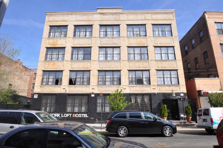 The former New York Loft Hostel at 249 Varet Street.