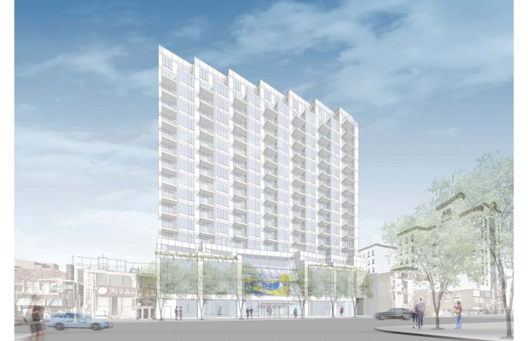 A rendering of 135-35 Northern Boulevard.