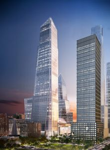 A rendering of 30 Hudson Yards. Rendering: Related Companies.