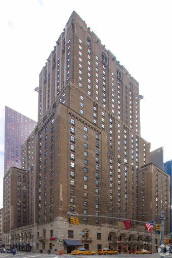 New York Marriott East Side at 525 Lexington Avenue.