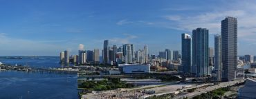 A shot of Downtown Miami