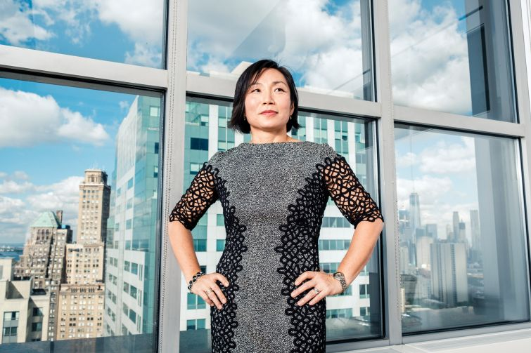 Susi Yu, shot at her offices at One MetroTech Center in Brooklyn, NY.  Chris Sorensen/For New York Observer.