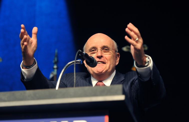 Rudy Giuliani. Photo: Steve Pope/Getty Images