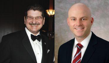 C&W's John Santora, left, and Ron Lo Russo.